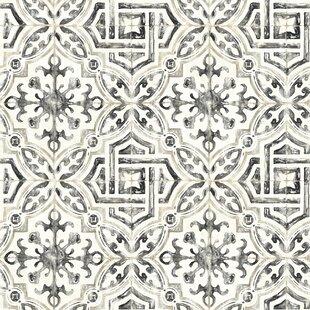 black white wallpaper you ll love wayfair