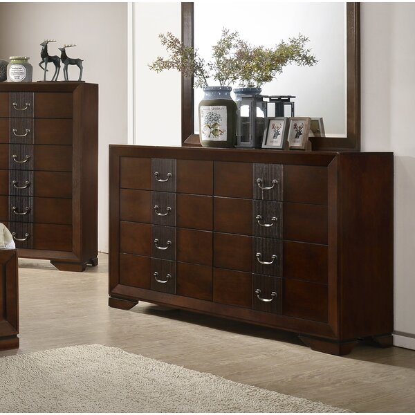 Foote 8 Drawer Double Dresser by Winston Porter