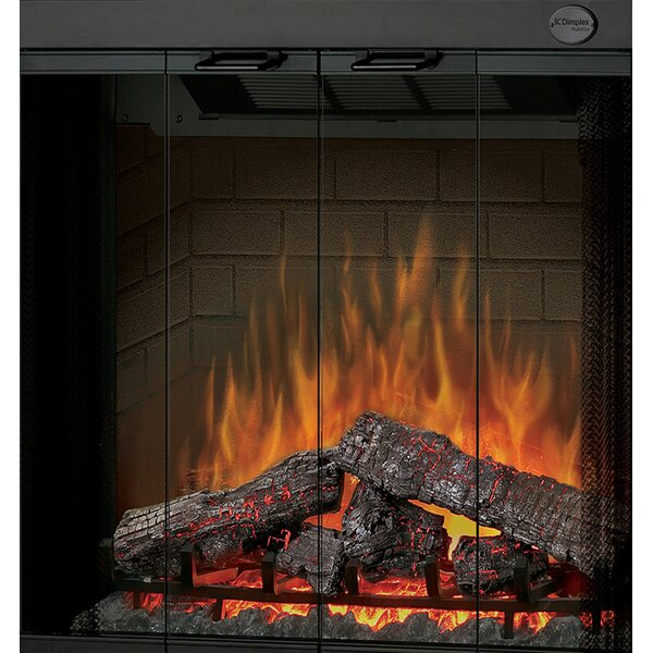 Electraflame 33 Glass Swing Doors for Built-In Electric Firebox by Dimplex