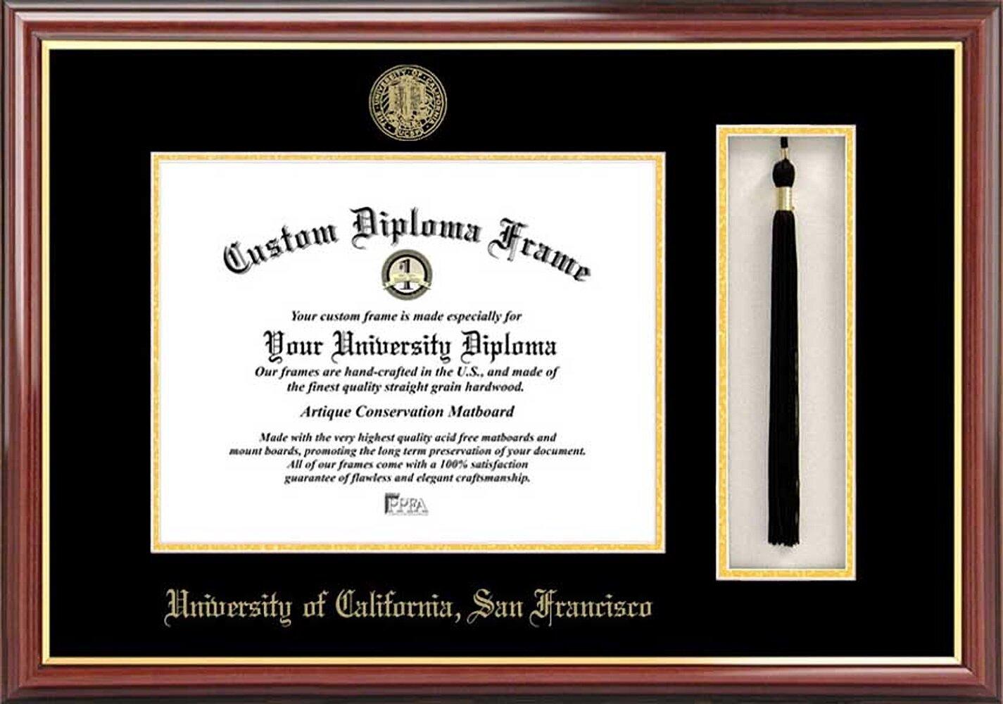 Diploma Frame Deals University Of California San Francisco Petite Tassel Diploma Picture Frame Wayfair