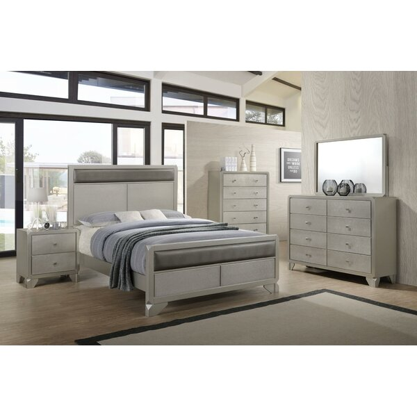 Reem Queen Platform 5 Piece Bedroom Set by Orren Ellis