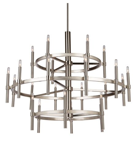 Bushong 24-Light Wagon Wheel Chandelier by Brayden Studio