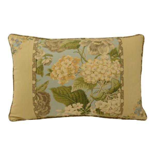 Garden Glory Cotton Lumbar Pillow by Waverly