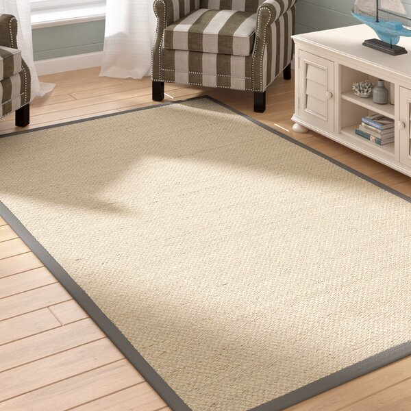 MonadnockBeige/Gray Area Rug by Beachcrest Home