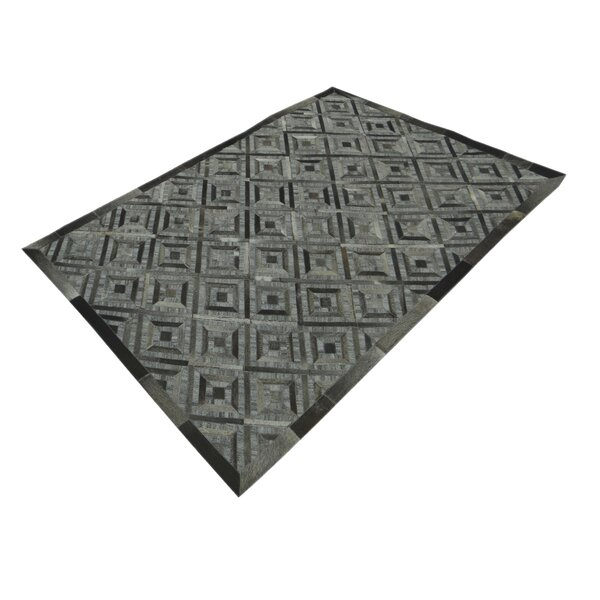 Cheshire Hand-Tufted Gray Area Rug by Brayden Studio