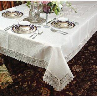 Quaker Lace Tablecloth | Wayfair