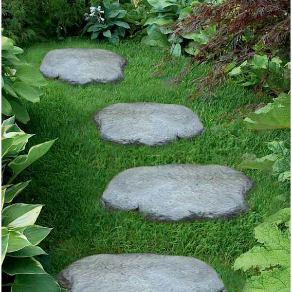 Starine Rock Stepping Stone (Set of 4) by Freeport Park