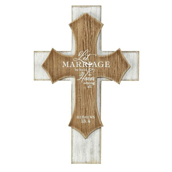 Distressed Cross Wall Décor by Ebern Designs