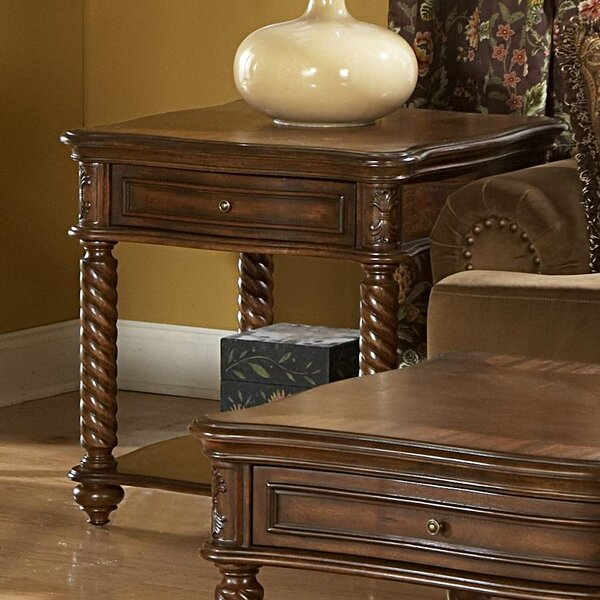 Dorset End Table by Astoria Grand