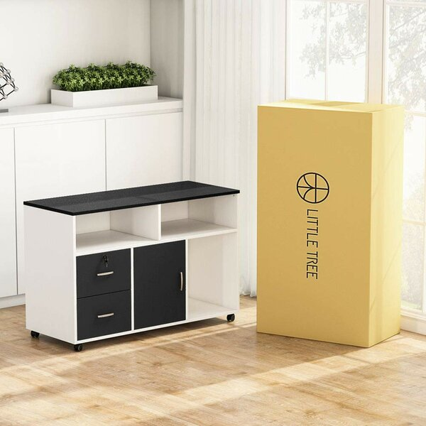 Timmothy 2-Drawer Mobile Lateral Filing Cabinet