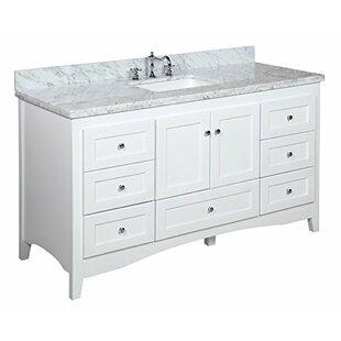 Save Kitchen Bath Collection Abbey 60 Single Bathroom Vanity Set