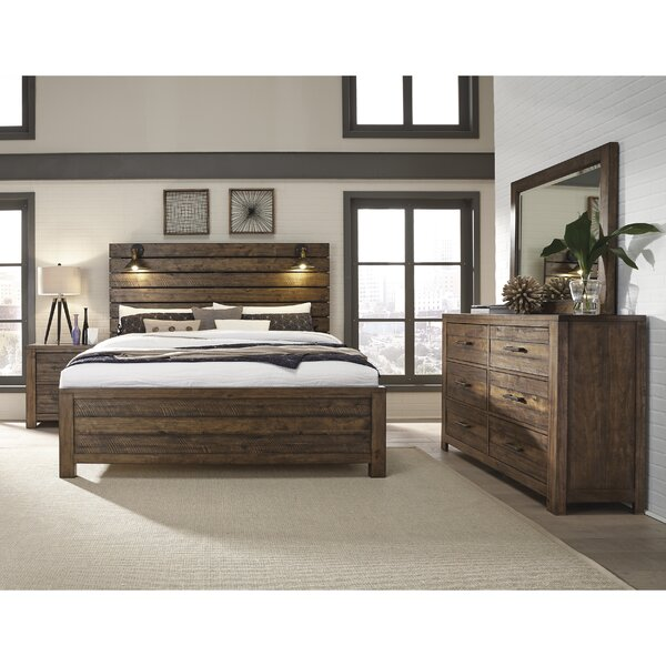 Tripp Standard Solid Wood 5 Piece Bedroom Set By Gracie Oaks by Gracie Oaks No Copoun
