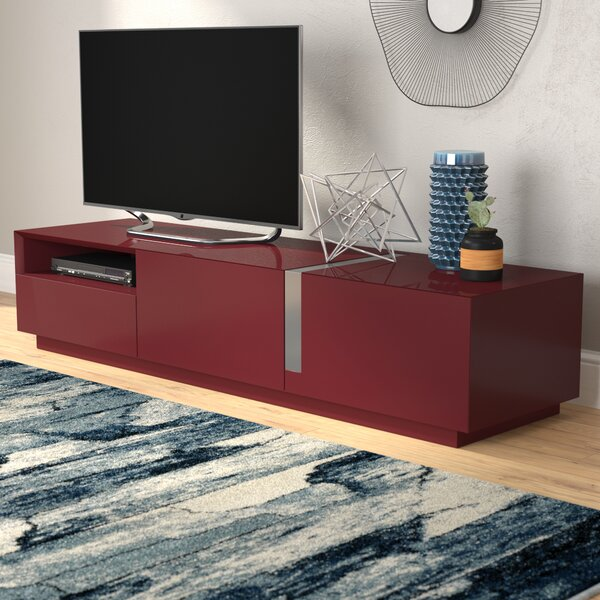 Review Weatherholt TV Stand For TVs Up To 78 Inches