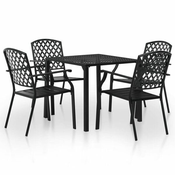 Ventana 5 Piece Dining Set by Winston Porter