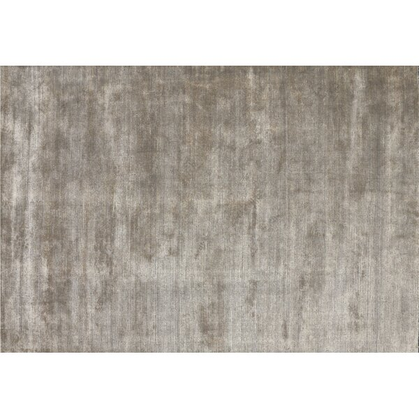 Sana Hand-Knotted Beige Area Rug by Union Rustic