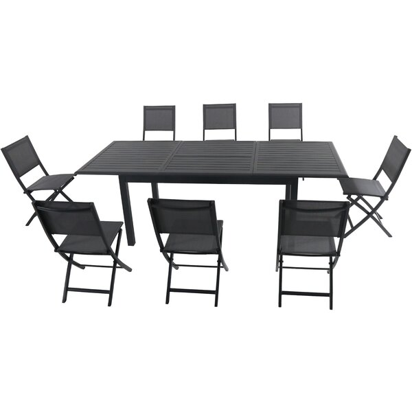 Bayshore 9 Piece Dining Set by Latitude Run