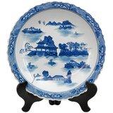 Blue And White Decorative Plates Wayfair