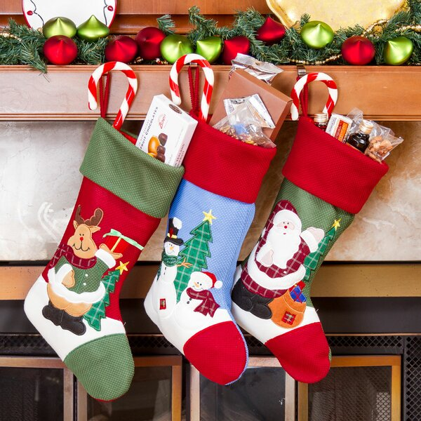 3 Piece Christmas Stocking Set (Set of 3) by Andover Mills