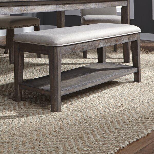 Vanwormer Upholstered Bench by Gracie Oaks
