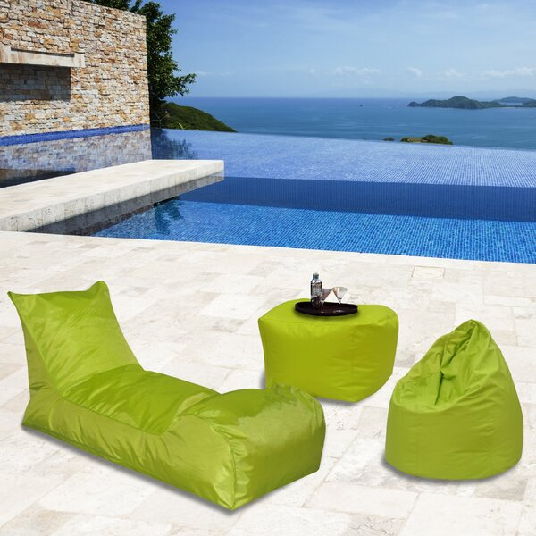 3 Piece Bean Bag Set by Latitude Run