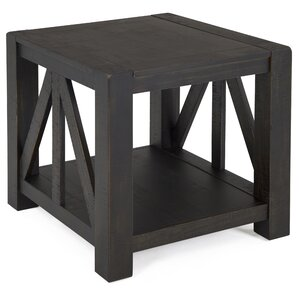Graciela Rustic End Table ..