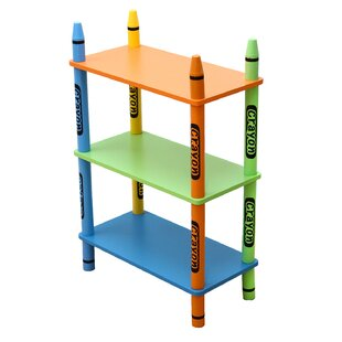 Affordable Elsinore 3 Tier 28 Bookcase ByZoomie Kids