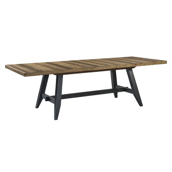 Laguna Trestle Extendable Dining Table by Union Rustic