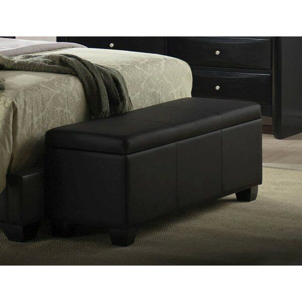 Aspatria Faux Leather Storage Bench by Winston Porter