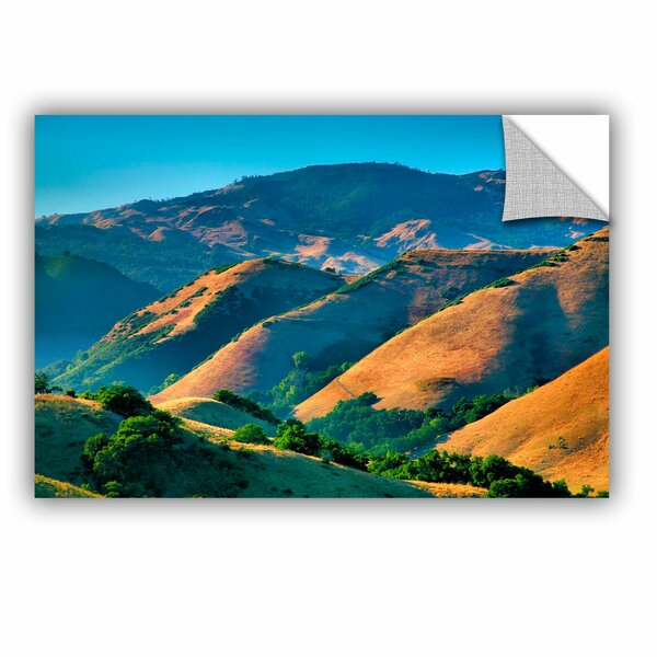 ArtApeelz Golden Hills by Steve Ainsworth Photographic Print on Canvas by ArtWall