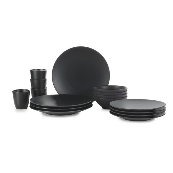 Equinoxe 16 Piece Dinnerware Set, Service for 4 by Revol