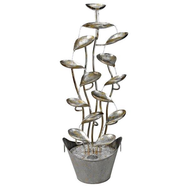 Metal Leaves Cascading Fountain by Wildon Home ®