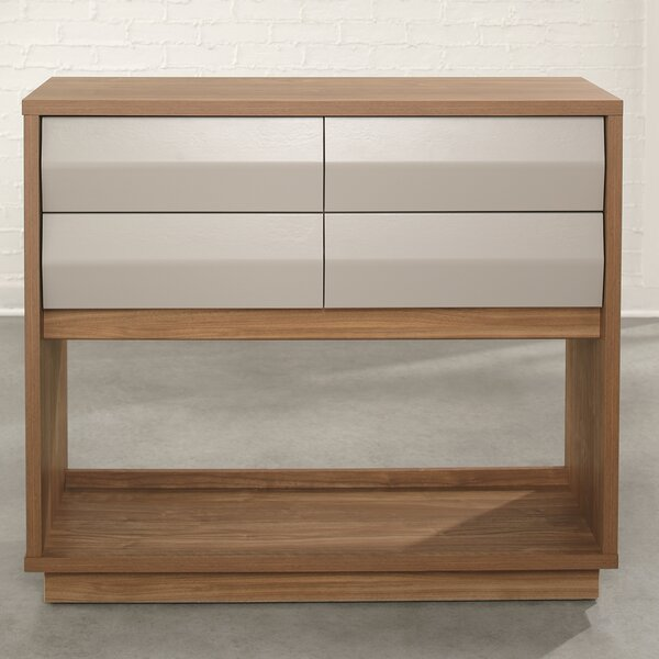 Review Mcmillin Soft Modern Console Table