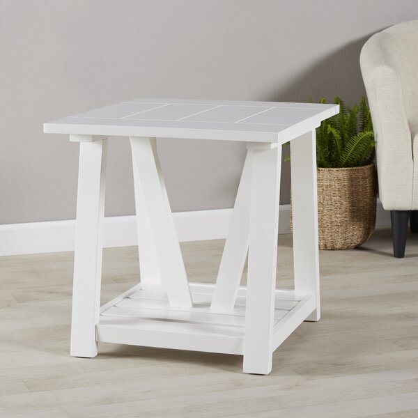 Dickens Side Table By Beachcrest Home