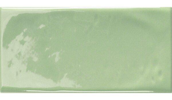 Mason 3 x 6 Ceramic Subway Tile in Light Apple Green by Walkon Tile
