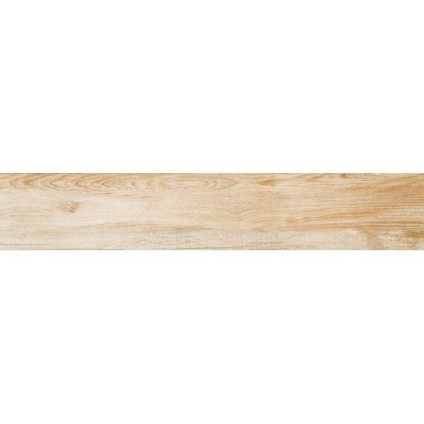 Pocono 6 x 24 Porcelain Wood Look/Field Tile in Oak by Emser Tile