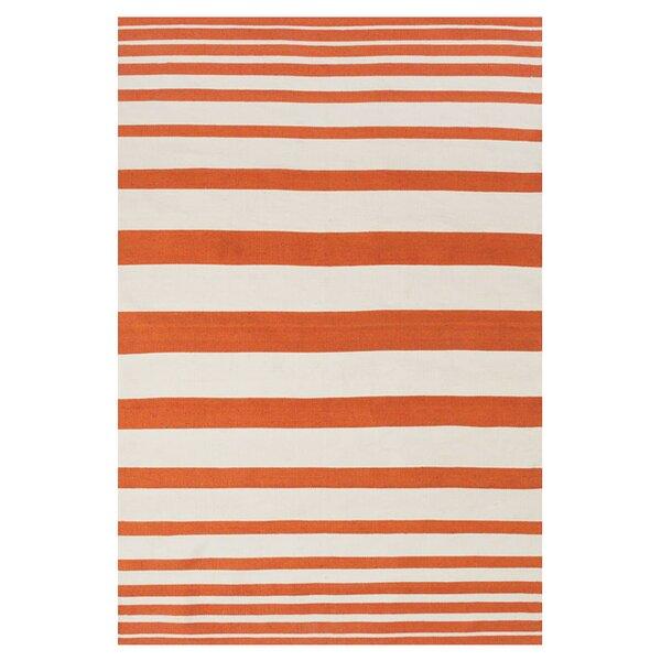 Mckayla Indoor/Outdoor Area Rug in Orange by Zipcode Design