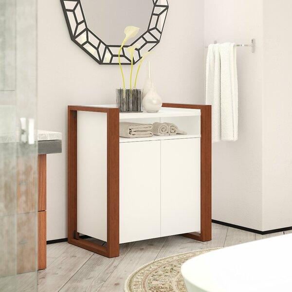 28.58 W x 31.73 H x 17.63 D Free-Standing Bathroom Cabinet