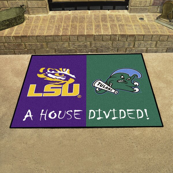 House Divided - LSU / Tulane Doormat by FANMATS