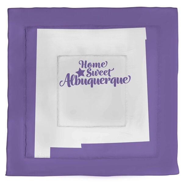 New Mexico Albuquerque Single Reversible Comforter