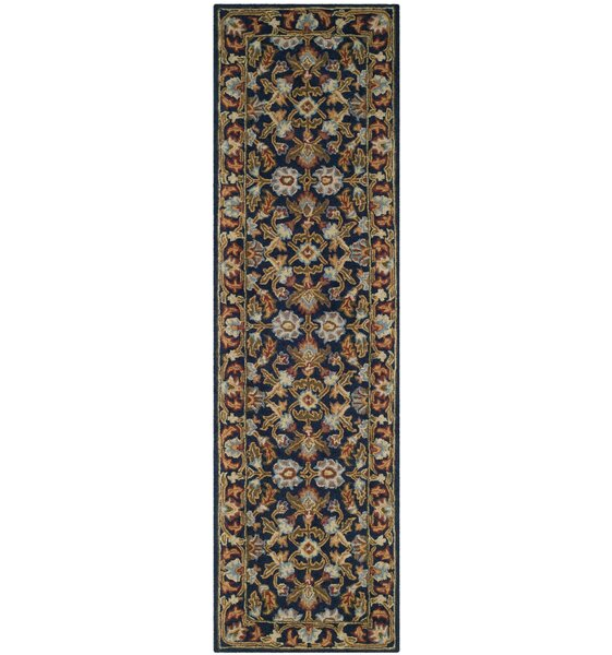Danieli Hand-Tufted Wool Blue/Beige Area Rug by Astoria Grand