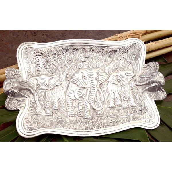Adelita Elephant Novelty Platter by Bloomsbury Market