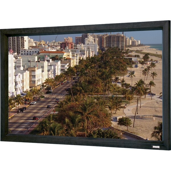 Cinema Contour 208 Diagonal Fixed Frame Projection Screen by Da-Lite