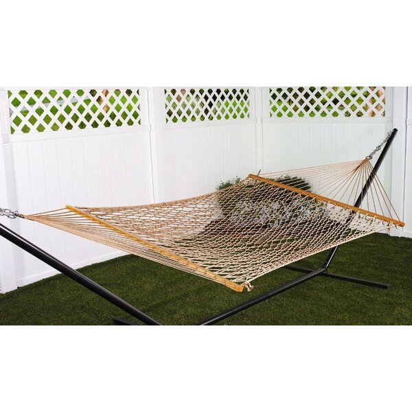 Kaliyah Double Cotton Rope Hammock by Bay Isle Home