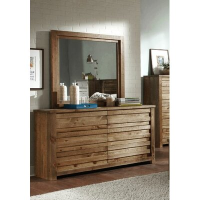 Wayfair For World Menagerie Georgio 6 Drawer Double Dresser With Mirror X111872427 Ibt Shop