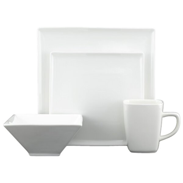 Flush 16 Piece Dinnerware Set by Tannex