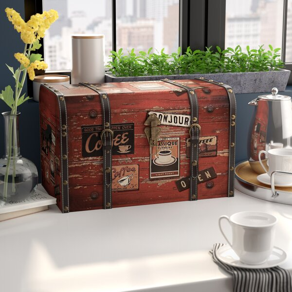 Aileen Medium Decorative Home Storage Trunk by Win