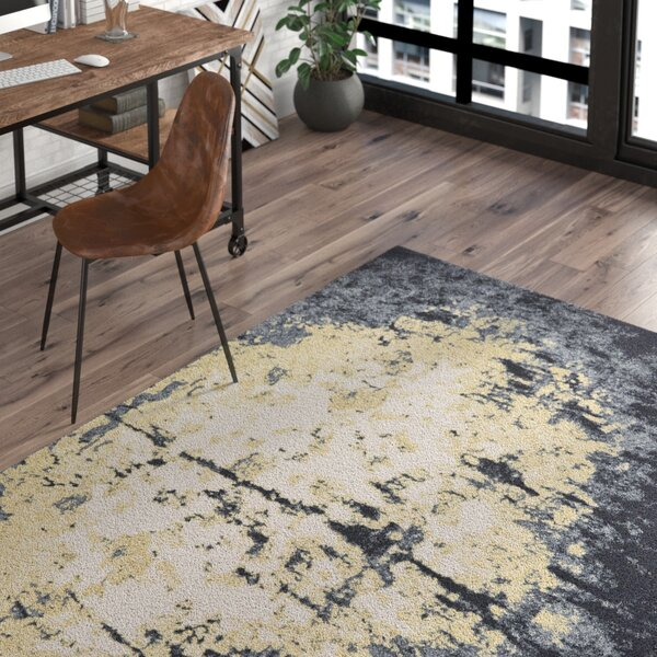 Hyannis Charcoal/Beige Area Rug by Trent Austin Design