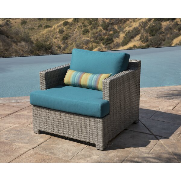 Koerner Patio Chair with Sunbrella Cushions by Red Barrel Studio