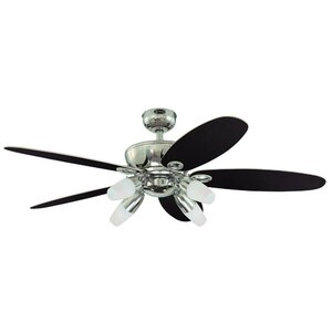 52″ Panorama 5 Reversible Blade Ceiling Fan