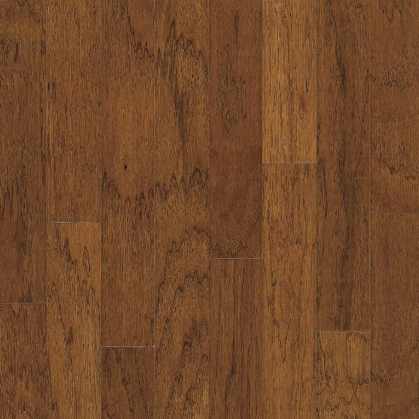 Turlington 5 Engineered Hickory Hardwood Flooring in Falcon Brown by Bruce Flooring